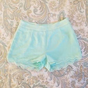 Tobi Scalloped Shorts